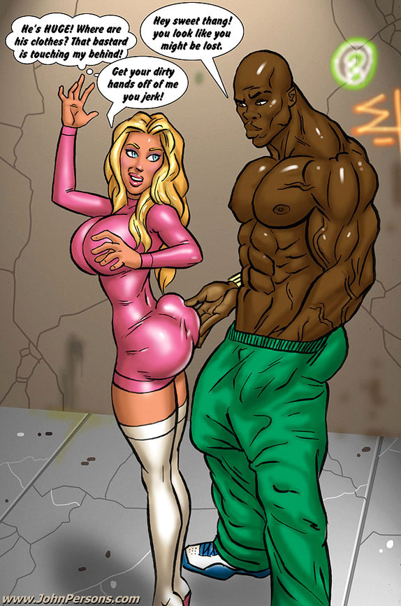 Interracial cartoon porno obrázky