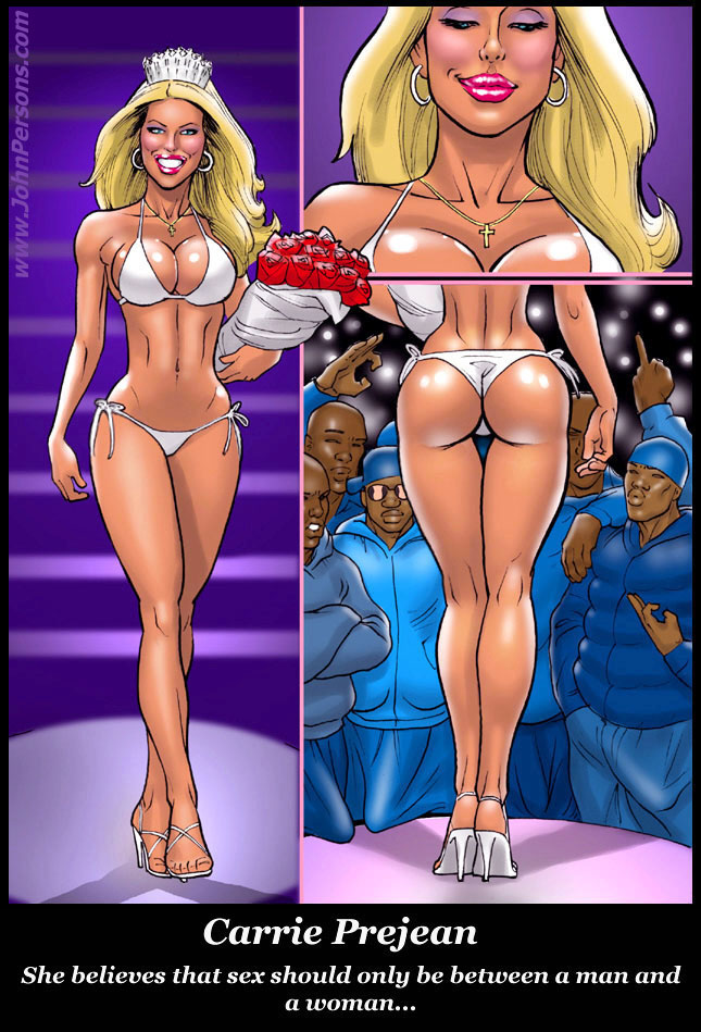 Interracial cartoons john persons